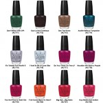 OPI Nail Polish Texas Collection Colors