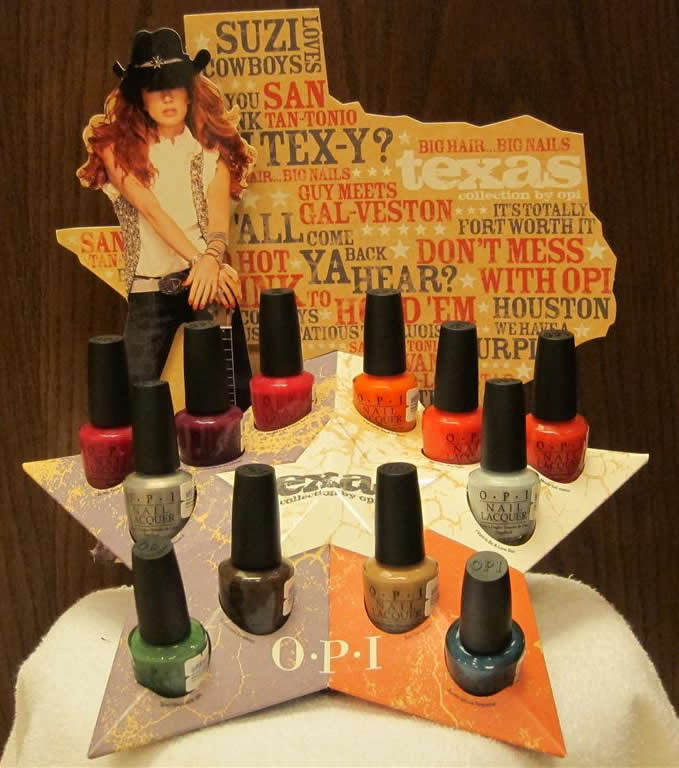 OPI Nail Polish - Texas Collection