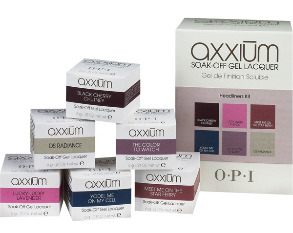 OPI Axxium Soak Off Gel - Headliners Collection