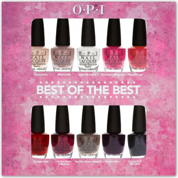 OPI Best of Best Mini Polish Collection