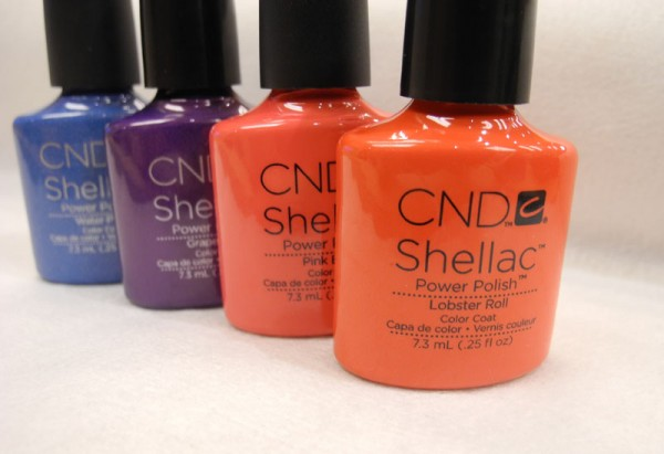 CND Shellac 2013 Summer Collection
