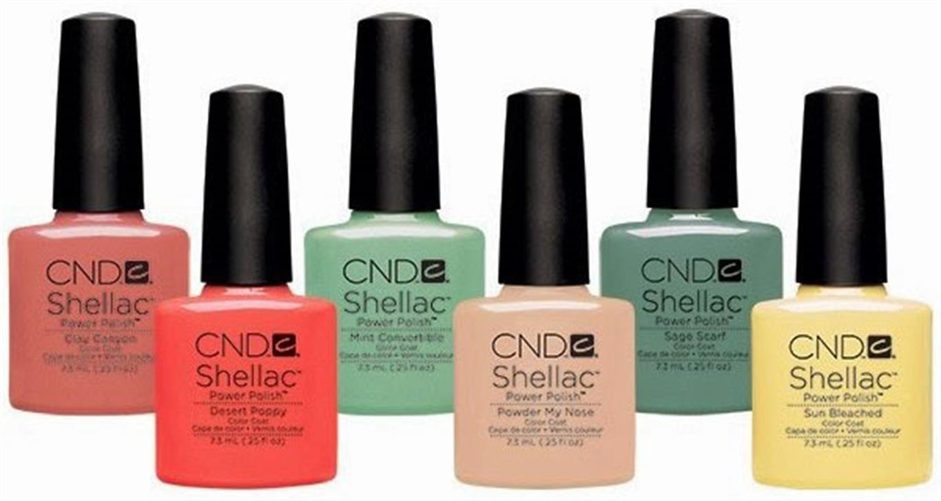 Shellac Intimates      CND SHELLAC