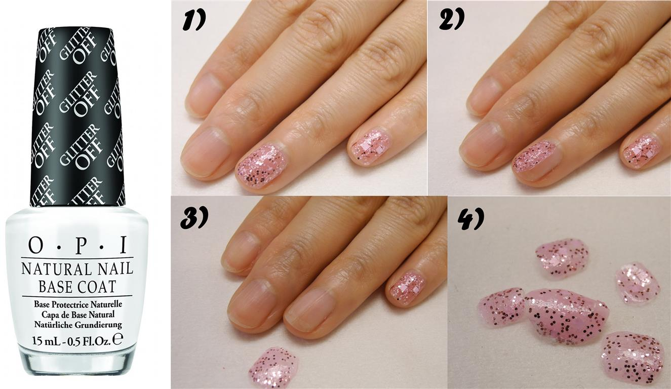 Goodbye Glitter! OPI New Natural Nail Base Coat can help you remove ...