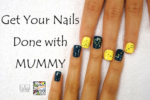 Get Your Nails Done with Mummy