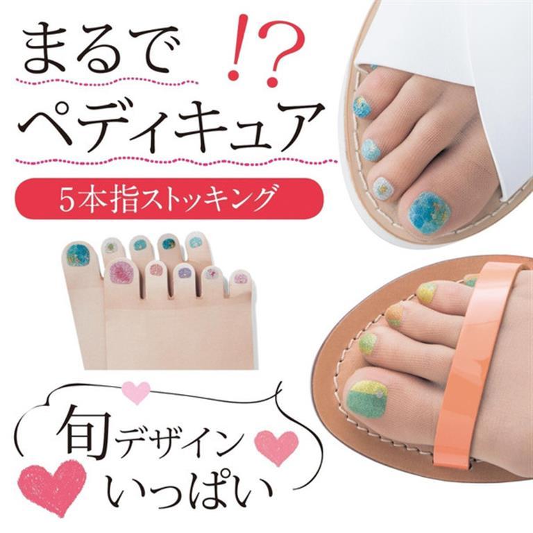 甲油五指絲襪1 (Medium)
