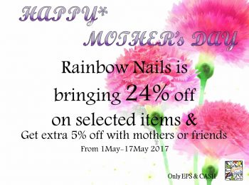 Mother Day Promotion 2017