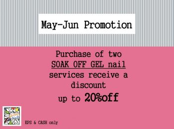 Gel Nail Promotion 2017 May/June