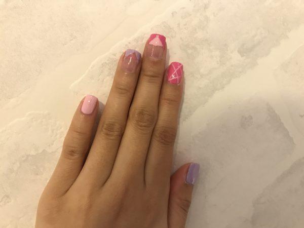 OPI Fiji Nail Art - Pink