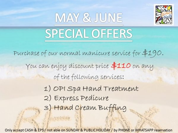 May June Manicure Promotion