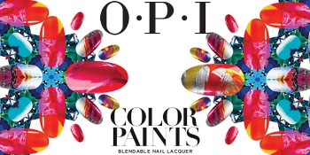 OPI Color Paints Collection 百變彩繪系列