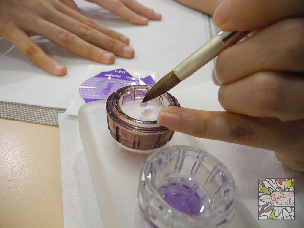 Step 7: Pick Up the Acrylic With The Brush