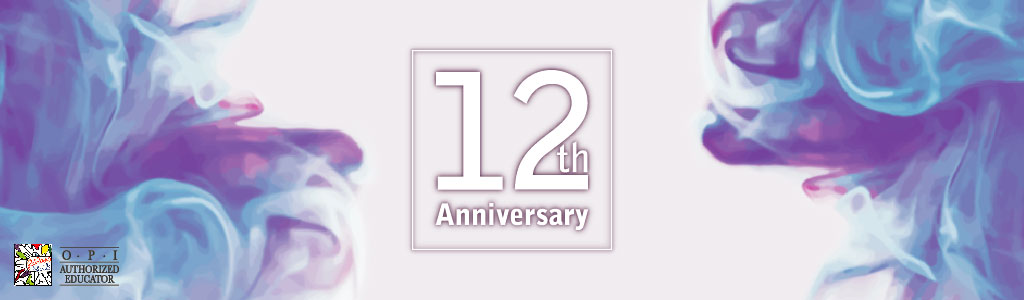 CELEBRATING OUR 12 ANNIVERSARY BY RECEIVE UP TO 20% DISCOUNT
