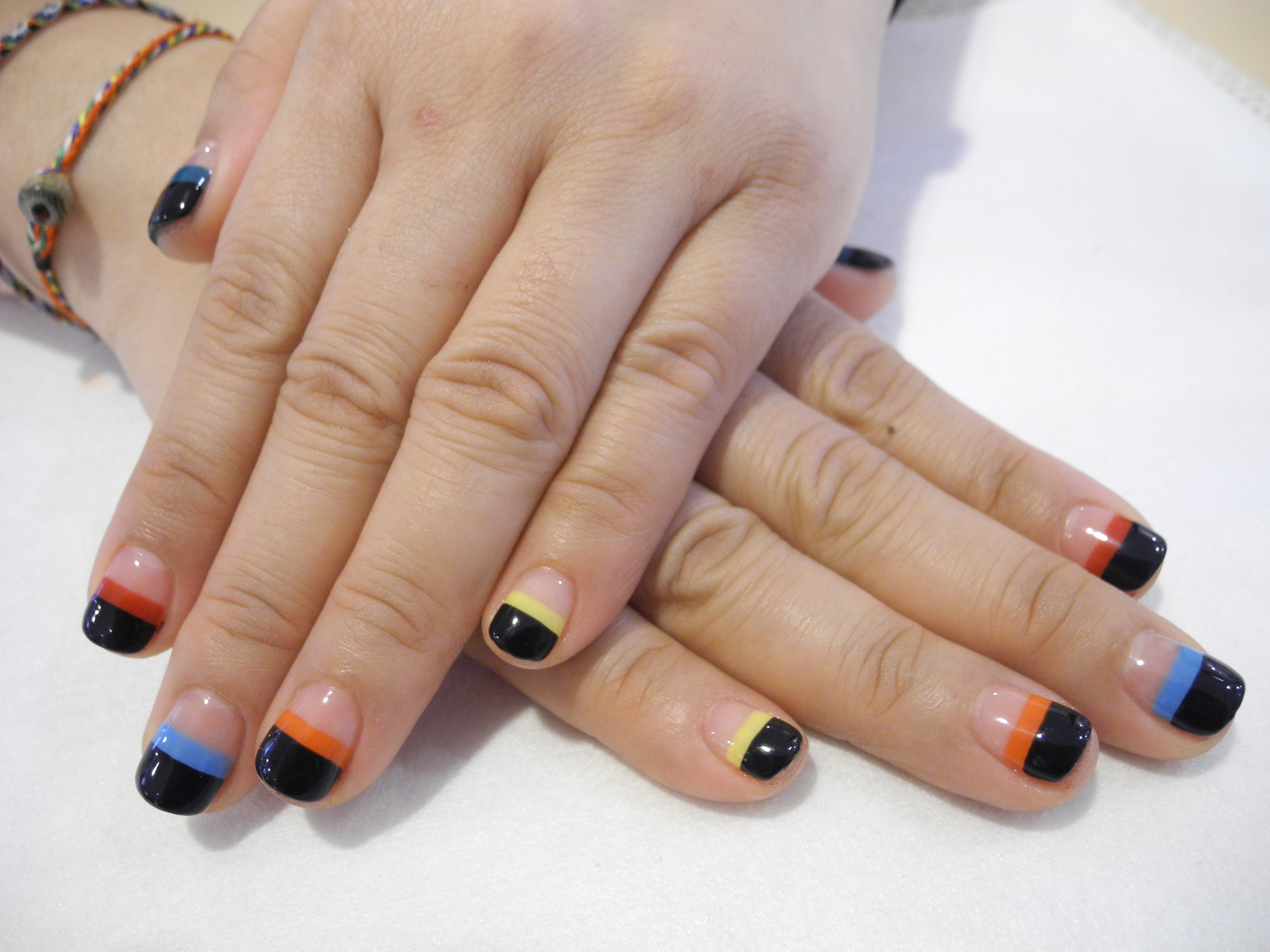 Rainbow nails opi premium manicure and pedicure services nail nail art gallery prinsesfo Image collections